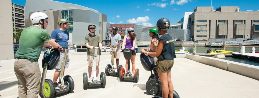 Boston Harborside Walk, Segway Tour